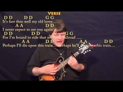 Man of Constant Sorrow - Mandolin Cover Lesson with Chords/Lyrics