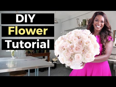 How to Make a Flower Arrangement With Artificial Flowers (And Where to Buy)