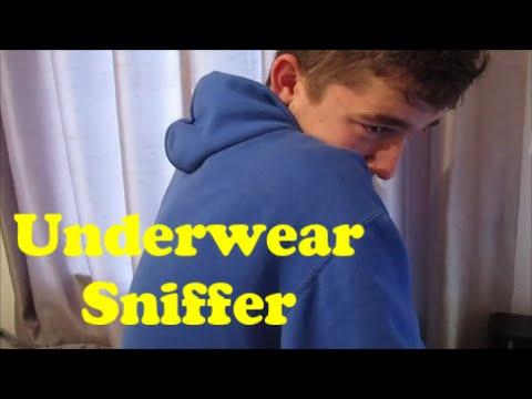 Underwear sniffer