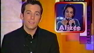 2001-04-25 - Exclusif, ce soir (TF1) - Nouveau clip d'Alizée en exclusivité