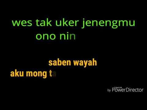 Lirik lagu ndx