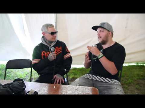 The Amity Affliction Interview Carolina Rebellion 2017| Soundlink TV