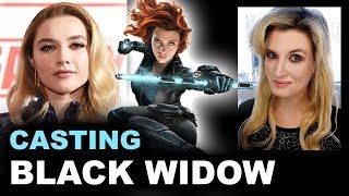 Black Widow Movie Cast - Florence Pugh