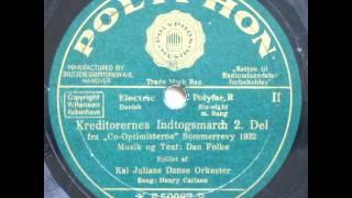 Kreditorernes Indtogsmarch - Kaj Julian; Henry Carlsen 1932