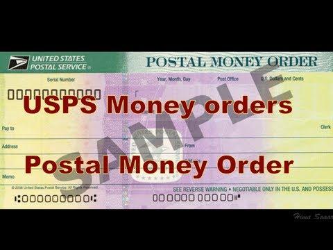 Us Postal Service Usps Money Order Explained Telugu Youtube