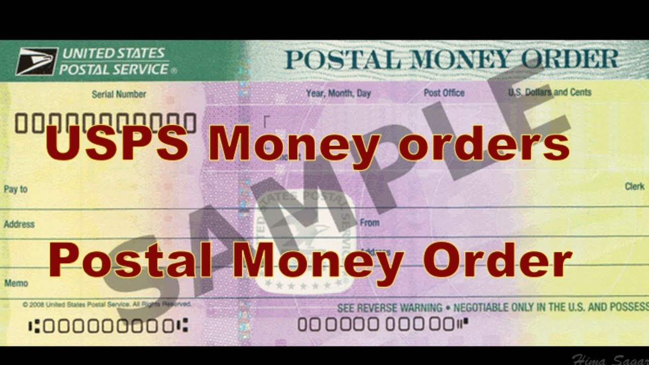 Us Postal Service Usps Money Order Explained Telugu Youtube
