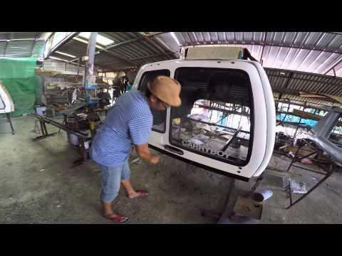 หลังคากระบะ มือสอง ติดรถ REVO โตโยต้ารุ่นใหม่ 16,000บาท ได้อะไรบ้าง