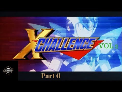 Mega Man X Legacy Collection X Challenge Vol 2 (Easy Mode) - Stage 6 |