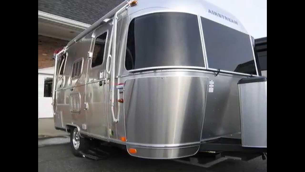 Amazing 2014 Airstream International Signature 19C Bambi Travel Trailer Camping RV - YouTube