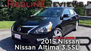 2015 nissan altima 3 5sl redline review