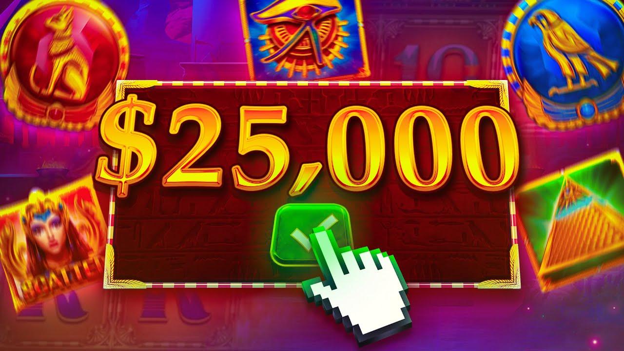 HUGE PROFIT ON $25,000 MYSTERIOUS EGYPT BONUS BUY!