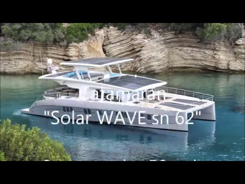Solarwave SN 62 _THE SOLAR HYBRID catamaran _  test drive 2017 _ Preveza-GREECE