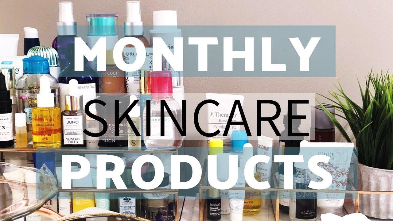 Monthly Skincare Drawer July-August | Jess Frezz/glamfreebeauty