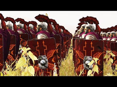 12000 ROME VS 12000 ARMENIA - MASSIVE BATTLE TOTAL WAR ROME 2 (CINEMATIC)