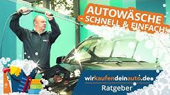 Auto waschen, einfach und schnell | Ratgeber Autopflege #2