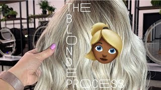 ALL THE STEPS IN A BLONDING APPOINTMENT! | BEAUTY SCHOOL SERIES