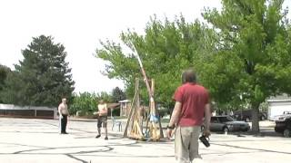 Trebuchet And Water Balloons  (part Three)