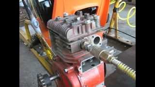 Compressed Air Go-Kart Engine