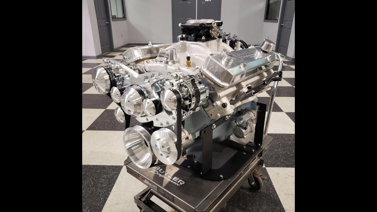 Power of Pontiac, 455Ci engine built by Butler Performance