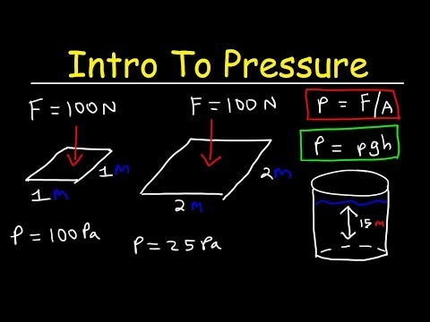 Introduction to Pressure & Fluids - Physics Practice Problems