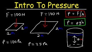 Introduction to Pressure &amp Fluids - Physics Practice Problems