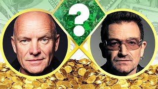 whos richer?   sting or bono?   net worth revealed 2017