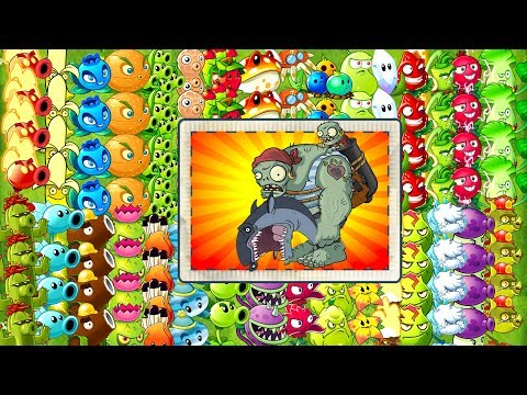 Every Premium and NEW Plants vs Zombies 2 Power UP vs Gargan