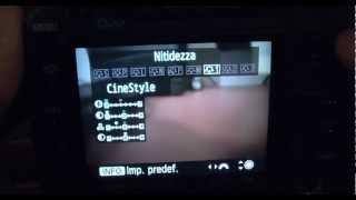 come installare il profilo colore technicolor cinestyle in canon 5d tutorial italiano