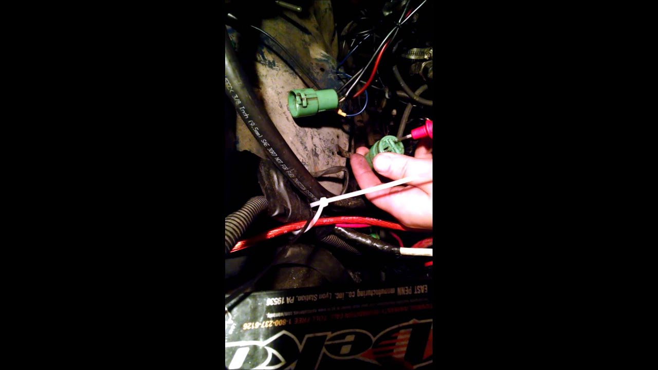 how to hookup an electric choke weber carb 32 36 on a 22r 87 toyota [ 1280 x 720 Pixel ]