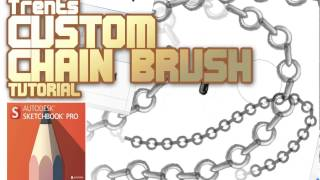 How to Make a Custom Chain brush in Sketchbook Pro!