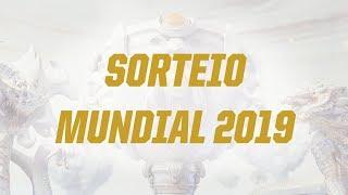 Mundial 2019 - Sorteio da Fase de Entrada