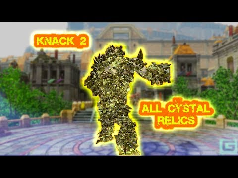 Knack 2 All Crystal Relics