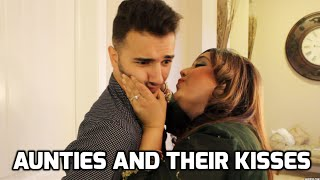 HUMILIATING kisses by those AUNTIES...