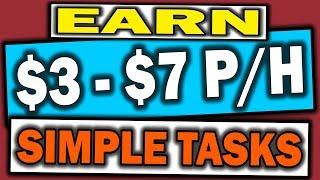 Earn money online doing simple tasks, $3 - $7 p/h ▶️ my# 1 recommendation to make a full time income online: 👉https://www.smartmoneytactics.com/wapassiv...