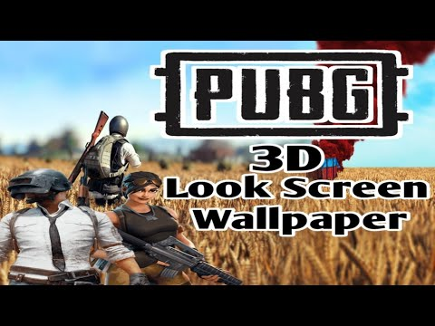 Pubg 3d Look Screen Wallpaper By Worldworld Best Mobile Games