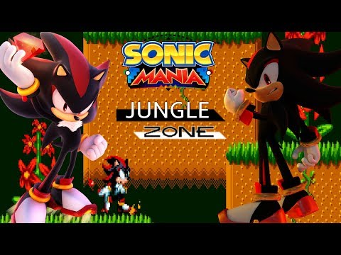 Sonic Mania PC Jungle Zone Mod w/ Sonic Forces Eggman Facily Music [4K 60fps]