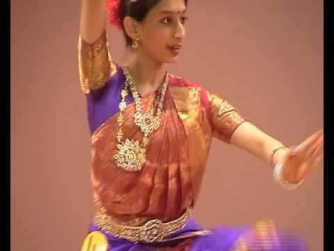 Antarika Sen performing 'Thillana' Bharatnatyam at GMIS, Jakarta  2006-07