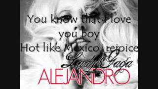 Lady Gaga - Alejandro (Karaoke) With Download Link!!!