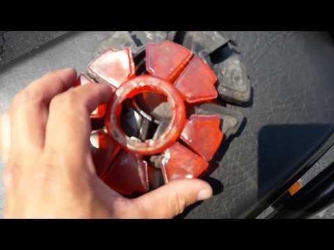 Замена демпферной задней резины в китайском мотоцикле Spark SP200R 25