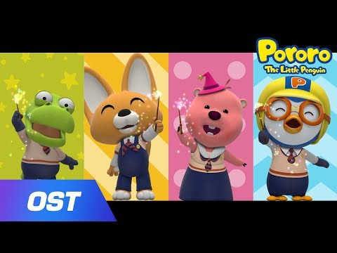 🌟 Pororo The Wizard 2 L Halloween Songs For Kids L Porong Porong Magic School L Sing Along Together