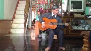 Hoa champa - guitar cover .