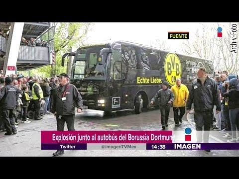 Los detalles de la explosión del autobús del Borussia Dortmund