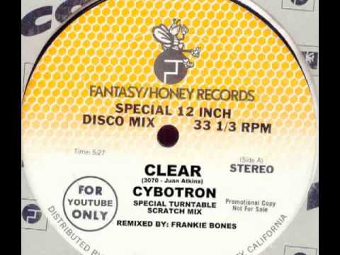 CLEAR  CYBOTRON  FRANKIE BONES TURNTABLE SCRATCH MIX