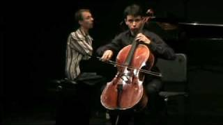 Debussy, Sonata for Cello and Piano in D minor - III. Finale