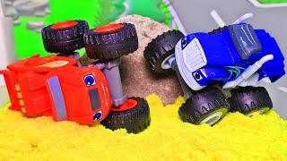 Вспыш и чудо машинки - Мультики про машины. Игрушки для детей 2020! Новое видео Вспыш и динозавры