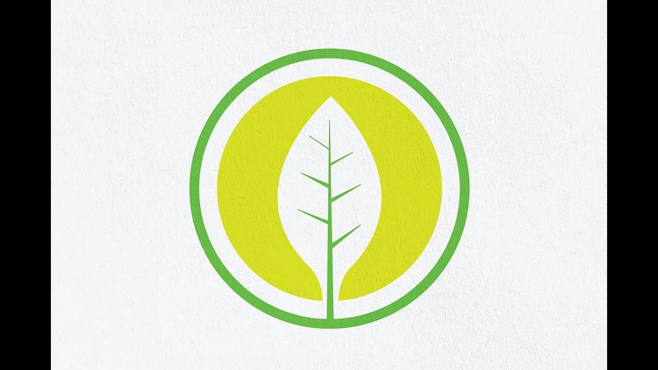 Adobe illustrator tutorial how to make a logo design   Pen Tool ...