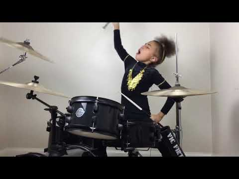 Voodoo People - The Prodigy - Drum Cover - Nandi Bushell Age 9