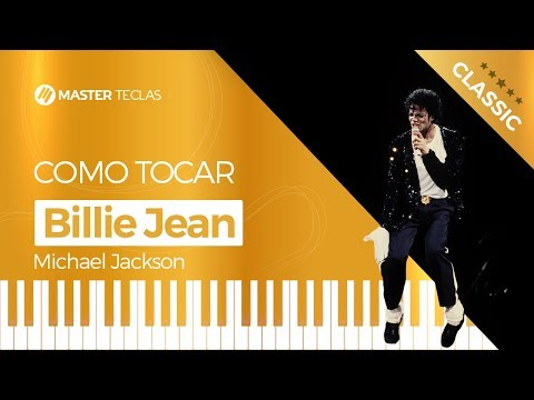 💎 Billie Jean  - Michael Jackson  Piano Tutorial - Master Teclas 💎
