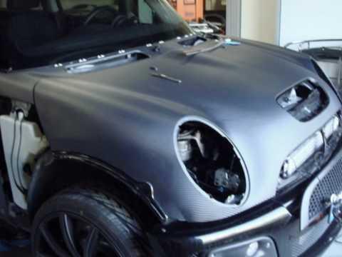 Mini Cooper S Carbonio 3M Di Noc Sainz911 Carbon Look