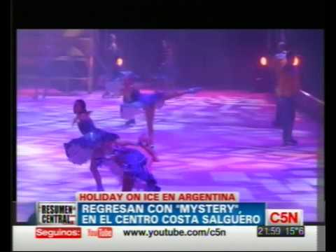 C5N - ESPECTACULOS - HOLIDAY ON ICE EN ARGENTINA